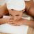 bonitinho · mulher · massagem · cara · estância · termal · centro - foto stock © milanmarkovic78