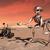 赤 · 惑星 · スペース · 目に見える · 岩 · 薄い - ストックフォト © miro3d