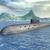 ロシア · 核 · 潜水艦 · コンピュータ · 生成された · 3次元の図 - ストックフォト © miro3d