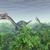 恐竜 · コンピュータ · 生成された · 3次元の図 · 科学 · 植物 - ストックフォト © miro3d