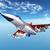 moderne · militaire · vliegtuigen · geïsoleerd · witte · technologie - stockfoto © miro3d