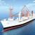 statek · towarowy · niebieski · morza · ocean · łodzi · przemysłu - zdjęcia stock © miro3d