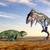 динозавр · компьютер · генерируется · 3d · иллюстрации · природы · животного - Сток-фото © miro3d
