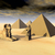 egyptian pyramids and statues stock photo © miro3d
