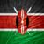 flag of kenya stock photo © mironovak