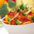 red yellow and orange sweet pepper broccoli and fennel salad stock photo © mironovak