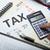 adó · viszzafizetés · számítás · könyvelő · adózás · számológép - stock fotó © mizar_21984