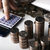 stack of russian coins on the background of working as an accoun stock photo © mizar_21984