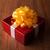 uno · bianco · scatola · regalo · giallo · nastro · arco - foto d'archivio © mizar_21984