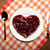 frambuesa · pie · forma · corazón · cumpleanos - foto stock © mizar_21984