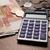 orosz · számológép · közelkép · pénz · pénz · érmék - stock fotó © mizar_21984