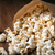 popcorn · hoop · geïsoleerd · witte · textuur · voedsel - stockfoto © mizar_21984