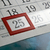 december 25 and calendar days with numbers close up stock photo © mizar_21984