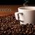 copo · café · preto · feijões - foto stock © mizar_21984