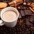 kávé · fűszer · fahéj · csillag · ánizs · étel - stock fotó © mizar_21984