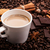 kávé · csokoládé · fahéj · izolált · fehér · absztrakt - stock fotó © mizar_21984