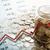 bank · érmék · számjegyek · diagram · közelkép · üzlet - stock fotó © mizar_21984
