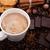 Кубок · кофе · корицей · анис · продовольствие - Сток-фото © mizar_21984
