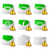 icon convert set 2d with exclamation sign stock photo © mizar_21984