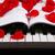 preto · e · branco · teclas · piano · teclado · diversão · preto - foto stock © mizar_21984
