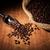 chicchi · di · caffè · raccogliere · tavola · bag - foto d'archivio © mizar_21984