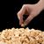 karamell · pattogatott · kukorica · közelkép · fehér · tál · étel - stock fotó © mizar_21984