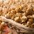 caramel popcorn in a basket on a napkin stock photo © mizar_21984