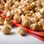 caramel popcorn on a napkin close up stock photo © mizar_21984