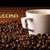 fincan · siyah · kahve · kahve · çekirdekleri · gıda - stok fotoğraf © mizar_21984