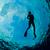 sziluett · vonzó · nő · fiatal · nő · snorkeling · Karib · nő - stock fotó © MojoJojoFoto