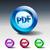 pdf · téléchargement · bleu · vecteur · icône · design - photo stock © moleks