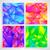 fraktál · absztrakt · szett · négy · hátterek · különböző - stock fotó © moleks