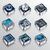 los · medios · de · comunicación · iconos · aplicaciones · interfaz · vector · web - foto stock © moleks
