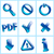 set glass icons button stop optical stock photo © moleks