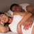 pregnant woman and husband in bed stock photo © monkey_business
