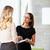 empresarias · informal · reunión · moderna · oficina · negocios - foto stock © monkey_business