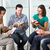 bíblia · grupo · leitura · juntos · mulher · livro - foto stock © monkey_business