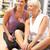 старший · женщину · Личный · тренер · спортзал · сопротивление - Сток-фото © monkey_business