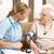 infirmière · supérieurs · femme · maison · de · retraite · séance - photo stock © monkey_business