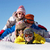 group of children having fun on ski holiday in mountains stock photo © monkey_business