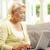 senior · vrouwen · laptop · moderne · vrouw · vergadering - stockfoto © monkey_business