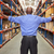 rear view of businessman in warehouse stock photo © monkey_business