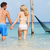 romântico · casal · em · pé · belo · tropical · mar - foto stock © monkey_business