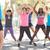fitnessz · edző · nyújtás · arc · boldog · egészség - stock fotó © monkey_business