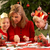mother and children making christmas cards together stock photo © monkey_business