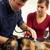 veteriner · köpek · tıp · beyaz · gülen - stok fotoğraf © monkey_business