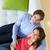 ver · casal · relaxante · sofá · mulher · amor - foto stock © monkey_business