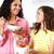 女性 · 食べ · イチゴ · キッチン · 健康 - ストックフォト © monkey_business