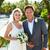 bruid · bruidegom · getrouwd · strand · ceremonie · bruiloft - stockfoto © monkey_business