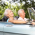 senior couple in sports car stock photo © monkey_business